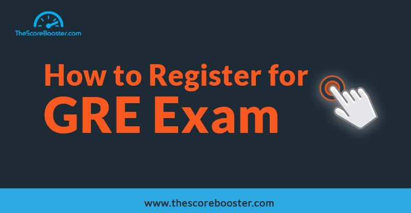 how to register for gre exam
