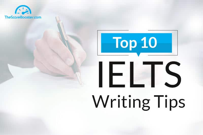 IELTS writing tips and tricks