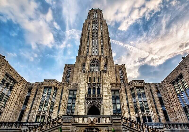 University of Pittsburgh accepts GRE score 300 - 310, one of the best US Universities for GRE score 300 to 310