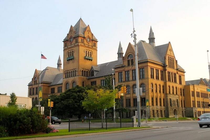 Wayne State University, Top universities list for MS in USA