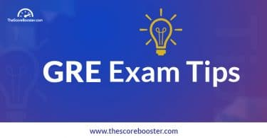 GRE exam tips