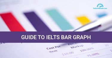 Bar graph in IELTS academic writing task 1
