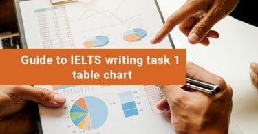 IELTS Table Chart
